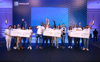 Banco Popular premia proyectos financieros de universitarios
